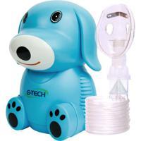 Inalador E Nebulizador Nebdog G-Tech Azul Bivolt