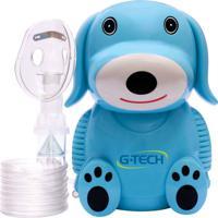 Inalador Nebulizador Nebdog G-Tech Azul Bivolt