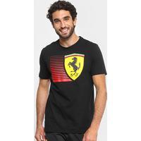 ... Camiseta Puma Scuderia Ferrari Big Shield Tee Masculina - Masculino e67305e37bf08