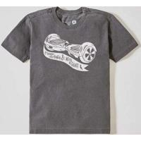 Camiseta Mini Nem A Gente Preto