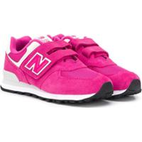 New Balance Kids 574 Core Sneakers - Rosa