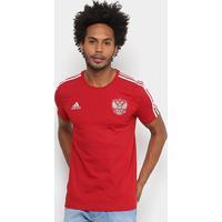Camiseta Seleção Rússia Adidas 3S Masculina - Masculino