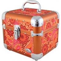 Maleta De Maquiagem Multiuso Jacki Design Sonho De Verão Laranja - Kanui