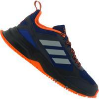Tênis Adidas Rockadia Trail 3.0 - Masculino - Azul/Laranja