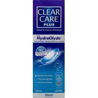 Clear Care Plus Solução De Limpeza E Desinfecção Para Todos Os Tipos De Lentes De Contato Com 360Ml