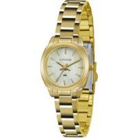 Relógio Feminino Lince Casual Lrg4436L B1Kx - Unissex-Dourado
