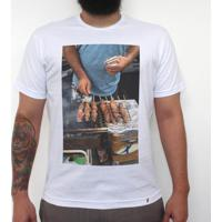 Churras - Camiseta Clássica Masculina