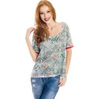 T-Shirt Estampada Cantão