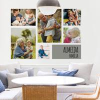 Painel De Fotos Personalizado Família Feliz