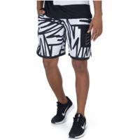 Bermuda Nike Px - Masculina - Branco/Preto