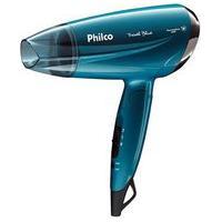Secador De Cabelos Philco Compact Travel Blue Psc02 - Bivolt