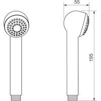 Ducha Manual Max Deca 4892 1/2 Cromada