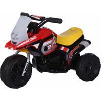 Triciclo Elétrico Infantil G204 6V Amarelo