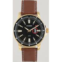 Relógio Analógico Mondaine Masculino - 99390Gpmvdh2 Dourado - Único