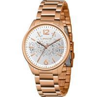 Relógio Lince Urban Lrrh134Ls2Rx Feminino - Feminino-Dourado