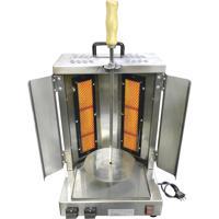 Assador A Gás Para Churrasco Grego Tomasi Kebabs-01 Com 1 Espeto