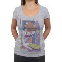 Lado B - Camiseta Clássica Feminina