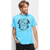 Camiseta O'Neill Face Off Masculina - Masculino-Azul