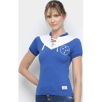 Camisa Cruzeiro 1943 Retrô Mania Feminina - Feminino