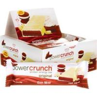 Barra De Proteina Power Crunch - 12 Unidades Red Velvet - Bnrg - Unissex