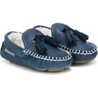Baby Walker Classic Mocassins - Azul