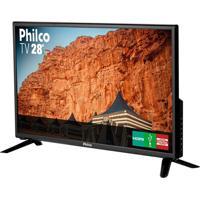 """Tv Led 28"""" Preto Philco Bivolt Ph28D27D"""