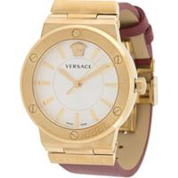 Versace Relógio Univers 43Mm - Vermelho