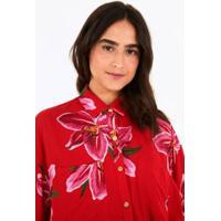Camisa Tropicausando Floral Lirio