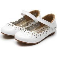 Sapato Lilica Ripilica Menina Branco