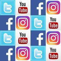 Adesivo Para Azulejo Redes Sociais