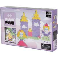Blocos De Montar - Plus Plus Castelo Mini Pastel 360 Peças