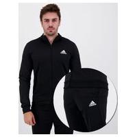Agasalho Adidas Essentials Tricot Preto