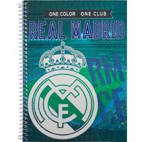 Caderno Foroni Real Madrid Verde 1 Matéria