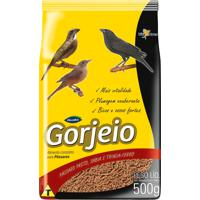 Ração Para Pássaros Gorjeio Com 500G