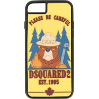 Dsquared2 Capa Para Iphone 6/7 Plus Com Estampa 'Bear' - Estampado