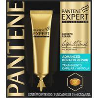 Kit Ampola De Tratamento Pantene Expert Keratin 3 Unidades