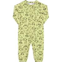 Macacão Manga Longa Bebê Menino Verde