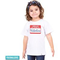 Hello, My Name Is - Camiseta Clássica Infantil