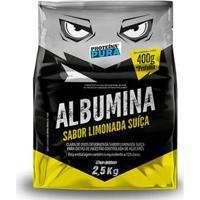 Albumina Desidratada 2,5Kg - Proteina Pura - Unissex-Limonada