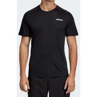 Camiseta Masculina Adidas D2M Tee Academia