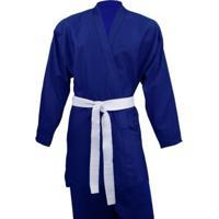 Kimono De Judô Adulto Shogum Azul - Unissex