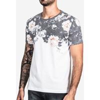 Camiseta Black Flower Superior 100469