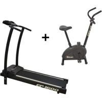 Esteira Ergométrica Ep-1600 E Bicicleta Ergométric - Unissex