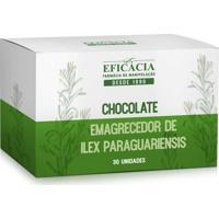 Chocolate Emagrecedor De Ilex Paraguariensis 100Mg - 30 Unidades
