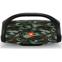 Caixa De Som Bluetooth Jbl Boombox 60W Rms Squad - Unissex