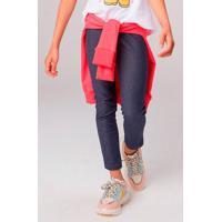 Calça Legging Jeans Infantil Menina Play Jeans Hering Kids