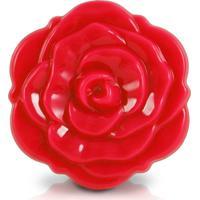Espelho Jacki Design De Bolsa Flor Arf17278-Vm Vermelho Unico