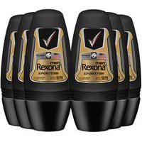 Kit Com 6 Uni Do Desodorante Antitranspirante Rexona Sportfan 50Ml