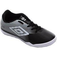 Chuteira Futsal Infantil Umbro F5 Light 0F82058 884311-122, Cor: Preto/Branco, Tamanho: 28