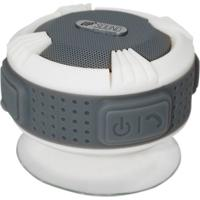 Caixa De Som Upsound Bluetooth A Prova Dágua Aqua Branco E Cinza